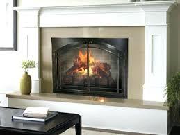 small fireplace glass doors oil rubbed bronze screen contemporary easton door small fireplace glass doors