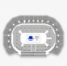 Oklahoma City Thunder Arena Seating Chart Oklahoma City Thunder Seating Chart Map Seatgeek Png