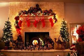 Cozy Chimney Christmas Decoration Ideas