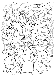 pokemon water type that looks like a heart fish coloring pages collection