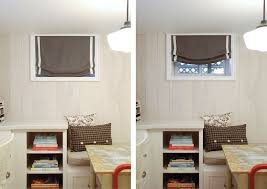 Window Treatments For High Short Windows Best 40 Basement With Small Awesome Basement Bedroom Window Plans