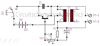 fish caller electronics circuit circuit wiring diagrams fish caller electronics circuit