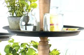 home improvement programme ii 2018 2 rustic tiered tray stand wood tin 3 tier trays wonderful