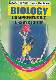 kcse masterpiece biology comprehensive essay guide text book centre kcse masterpiece biology comprehensive essay guide