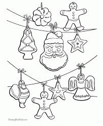 Small Picture Ornaments Coloring Pages Free inside Pictures Of Christmas