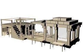 start slideshow cardboard office