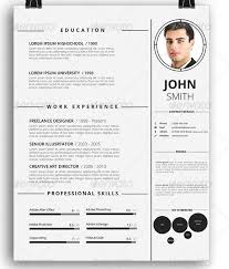 Awesome Resume/cv Templates | 56pixels.com