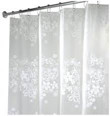 length shower curtain rod m l f