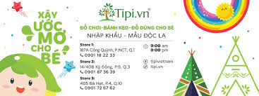 Cửa hàng Đồ Chơi & Đồ Dùng Trẻ Em Nhập Khẩu Từ Mỹ, Hàn Quốc, Thai Lan –  Tipi.vn