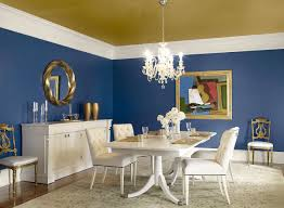 Blue Dining Rooms  Dactus - Dining room paint colors 2014
