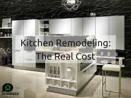 Renovating A Kitchen Cost What Is The Average Cost To Remodel A Kitchen