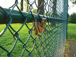 diy chain link fence paint
