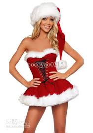 2017 Dhl Fedex Christmas Costume Sexy Costume Women Christmas ...