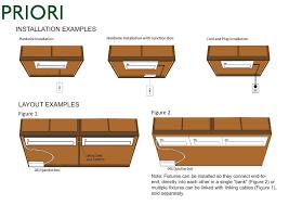 hard wire cabinet lighting. Amazon.com: American Lighting 043X-3-WH Priori Xenon Under Cabinet Hardwire Light, 60-Watts, Hi/Low/Off Switch, 120-Volt, 22-Inch, White: Home Improvement Hard Wire G