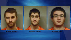Three arrested for multiple car break-ins in Mercer and Darke counties |  WRGT