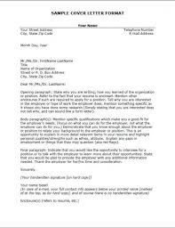 Cover Letter Monster Cover Letter Samples Sample Resume And Cover