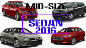 Best Mid Size Sedans Car Buying Guide Car Youtube