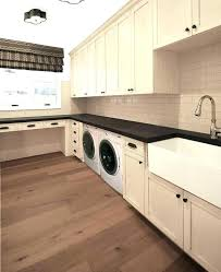 counter depth washer and dryer. Simple Washer Washer And Dryer Countertop Laundry Room With Cream Cabinets Counter  Depth On T