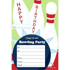 Bowling Party Invitations Free Printable Bowling Party Invitation Templates Quinnbrettler Com