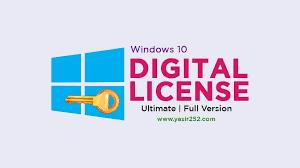 Image result for Windows 10 Digital License Ultimate