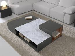 View in gallery Modular coffee table with magazine rack