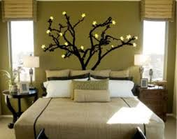 Wall Painting Designs For Bedrooms Ideas : A Tree Cool Wall Painting - Cool  bedroom wall