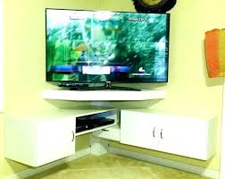 Corner Tv Wall Mounts With Shelves Extraordinary Beautiful Corner Wall Shelf For Tv The Ignite Show