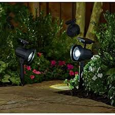 better homes and gardens lighting. better homes and gardens 6piece solarpowered adjustable spotlight set black finish lighting l
