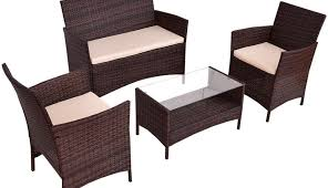 table dining couch suncrown sectional furniture covers magnificent set corner cushions patio round rattan modern wedge