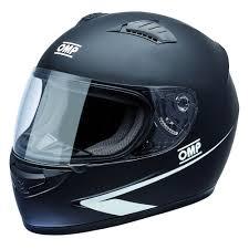 Details About Omp Circuit Helmet Rally Race Racing Matte Black Sport Protect Ece
