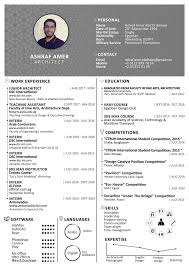 Architecture Intern Resumes 2018 Cv Resume Vol 3 On Student Show