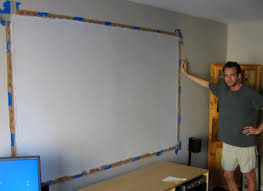 projector wall paintDIY Projector Screen  Part II  Goo It Yourself BigPictureBigSound