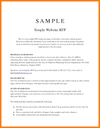 Simple Proposal Template Example 24 example of a simple proposal penn working papers 1