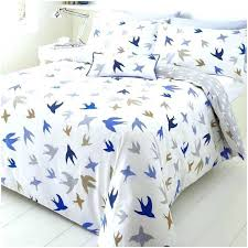 striped duvet cabana cotton cover set and white king size blue bedding curtains covers twin double