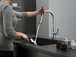 Delta Touch2o Kitchen Faucet Delta 9113t Ar Dst Essa Touch2o Kitchen Faucet Best Kitchen Faucets