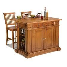 Oak Kitchen Home Styles Americana Distressed Cottage Oak Kitchen Island With