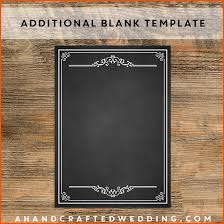 blank menu template free download blank menu template invitation template