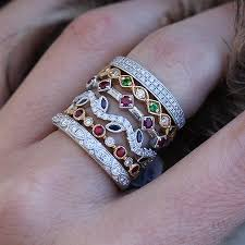levy s fine jewelry unique stackable rings