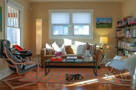 zoom room denver for a eclectic living room with a area rug and denver highlands bungalow charming eclectic living room ideas