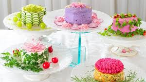 These Beautiful Super Healthy Salad Cakes Are Japans Latest Food