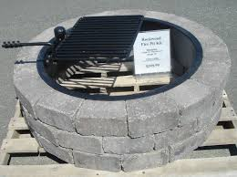 awesome fire pit sizes concrete block and brick products insert ship design fire pit size z88