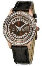 just cavalli watch brand new womens roberto just cavalli r7251169055 ice leather strap watch