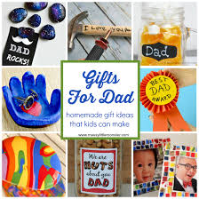 gifts for dad from kids homemade gift ideas that kids can make