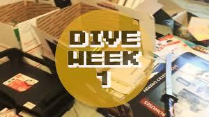 gamestop dumpster dive mondo haul week