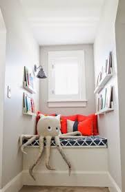 Small Kids Reading Nook With Windows