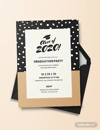 Graduation Invitation Templates Microsoft Word Graduation Invitation Template Download 93 Invitations In