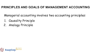management accounting assignment help 18 principles and goals of management accounting