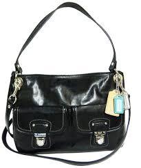 ireland coach leather shoulder strap lock 9e23f 81b93