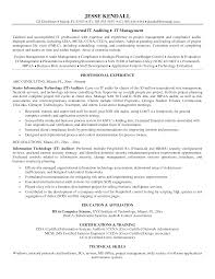 Quality Assurance Sample Resumes Collection Of Solutions Information