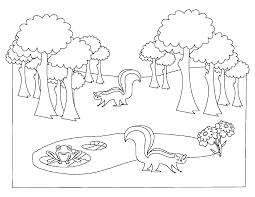 Tranh tô màu (Khu rừng động vật)